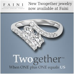 New Jewelry Line -TWOGETHER- now available at Faini Designs Jewelry Studio