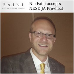 Nic Faini Pres-elect for Nebraska/South Dakota Jewelers Association