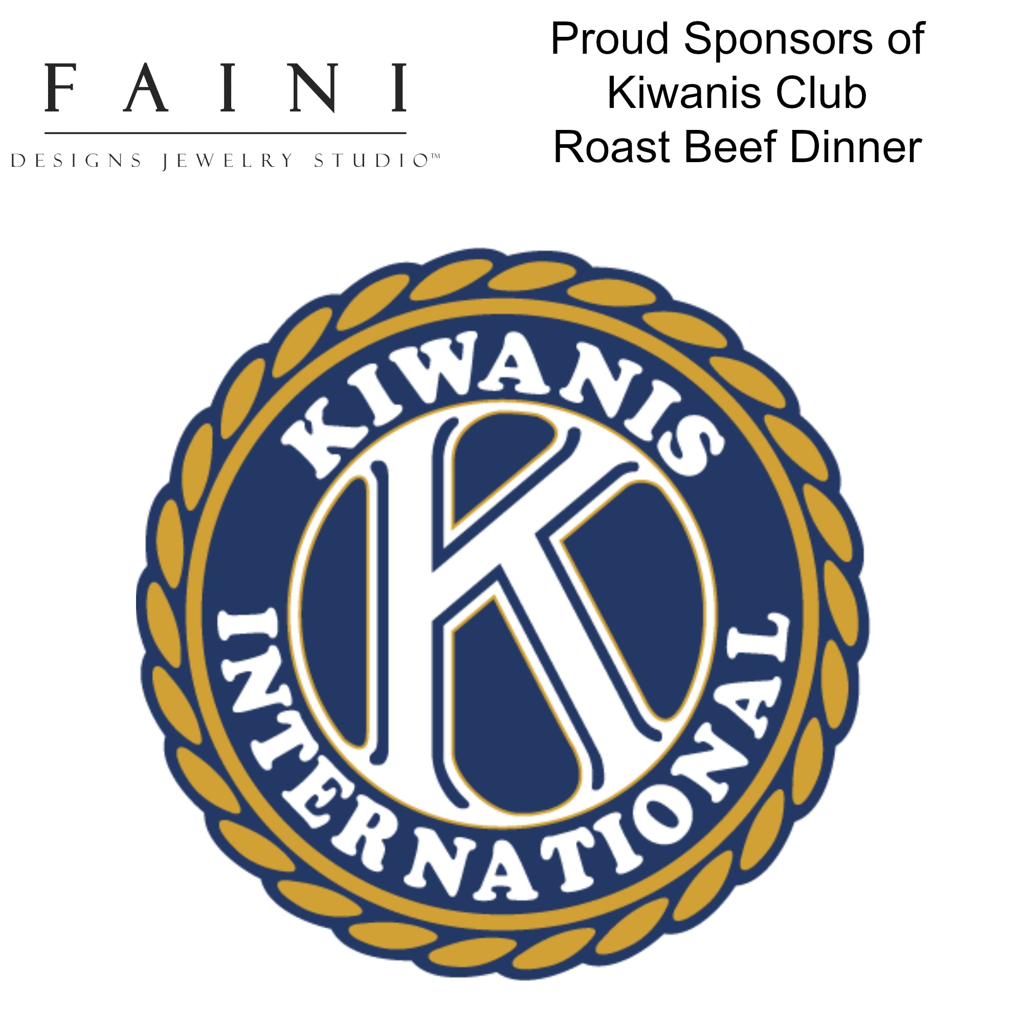 Proud Supporter of Kiwanis Club International